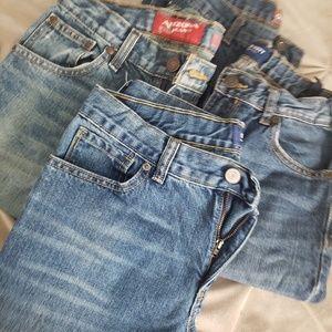 Jeans - Boys 16 Old Navy & Arizona
